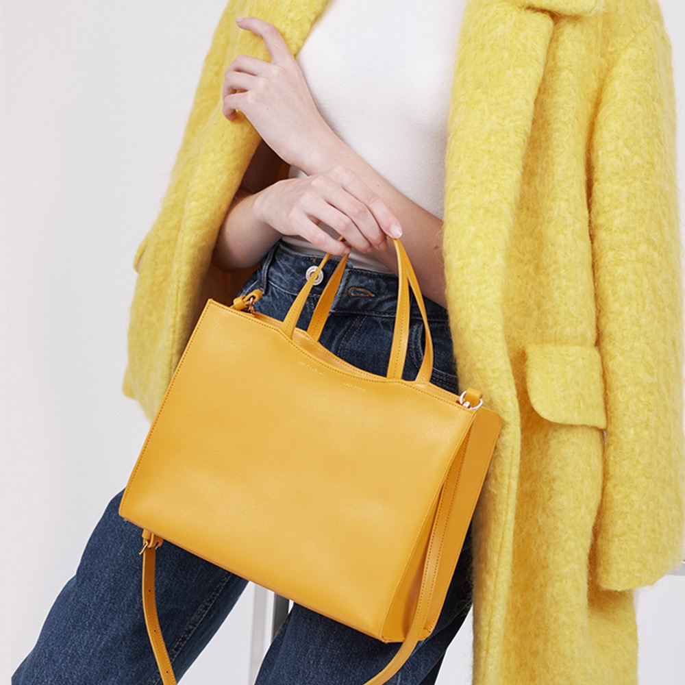 [ESSENTIAL BY UM] DALES TOTE - CANARY YELLOW