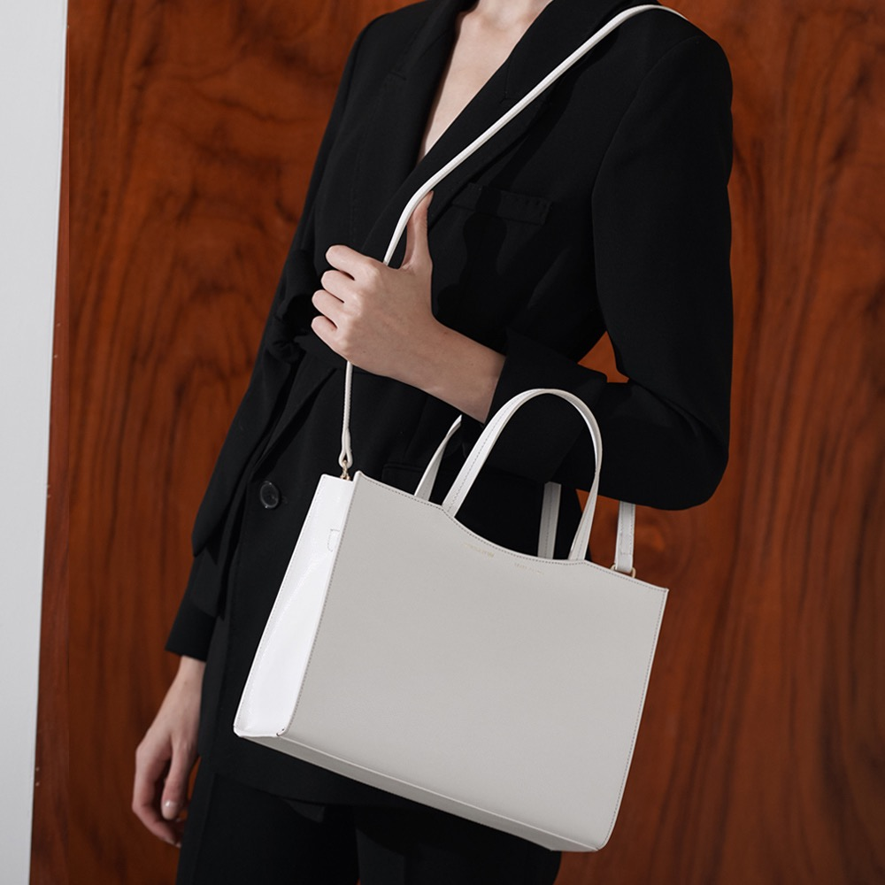 [ESSENTIAL BY UM] Dales Tote - Ivory