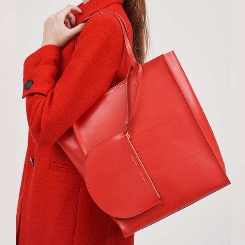 [ESSENTIAL BY UM] DALES SHOPPER - Crimson Red