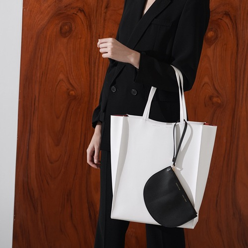 [ESSENTIAL BY UM] DALES SHOPPER- IVORY