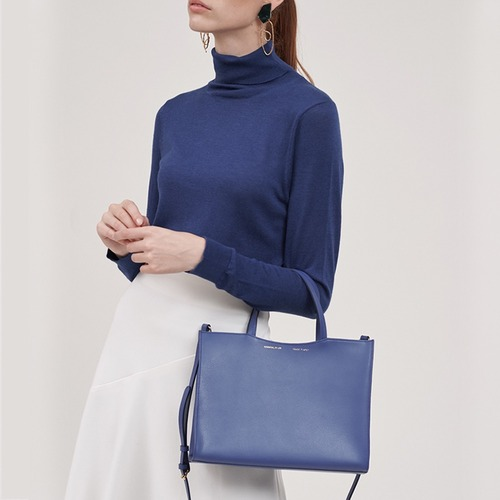 [ESSENTIAL BY UM] DALES TOTE - ROYAL BLUE